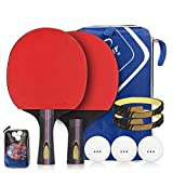 Table tennis bats, Ping pong paddle set Butterfly table tennis racket Professional 5-ply