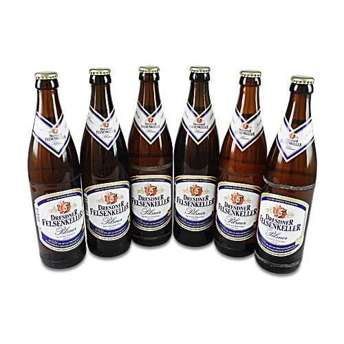Dresdner Felsenkeller Pilsner (6 Flaschen à 0,5 l / 4,8% vol.)MEHRWEG
