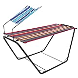 YUEBO Portable Hammock with Space-Saving Steel...