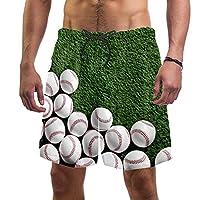 ビーチショーツメンズ サーフスイムトランクス S,ビーチパンツ巾着カジュアル快適ショーツ