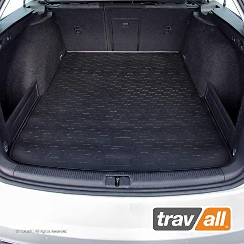 Travall CargoMat Liner Kofferraumwanne Kompatibel Mit Volkswagen Passat Kombi (2005-2015) Alltrack (2012-2015) TBM1002 - Maßgeschneiderte Gepäckraumeinlage mit Anti-Rutsch-Beschichtung