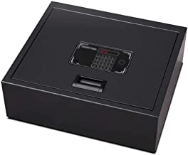 Safe Upside-Down Safe Box Household High Car Anti-Theft Hotel Drawer Box (Size : 40x35x13cm)