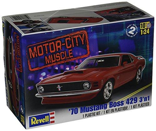 Revell Monogram RVM2149 Revell '70 Mustang Boss 429 3'n 1 Multicolore