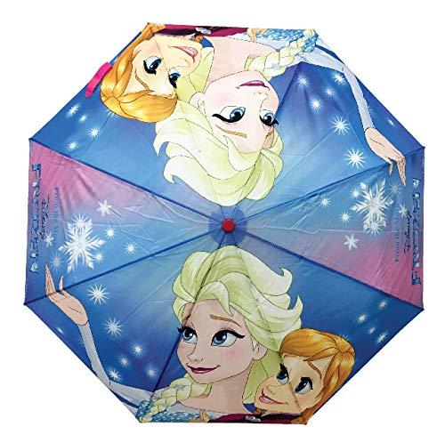 Chanos Chanos Frozen Automatic Metal Polyester Taslon Folding Umbrella, 46 cm, Bright...