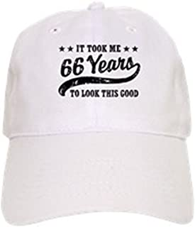b82f226e79c20 CafePress - Funny 66Th Birthday - Baseball Cap with Adjustable Closure