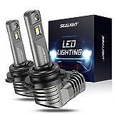 SEALIGHT 9006 HB4 LED Headlights Bulb, Low Beam LED Bulb with Fan, 7200lm