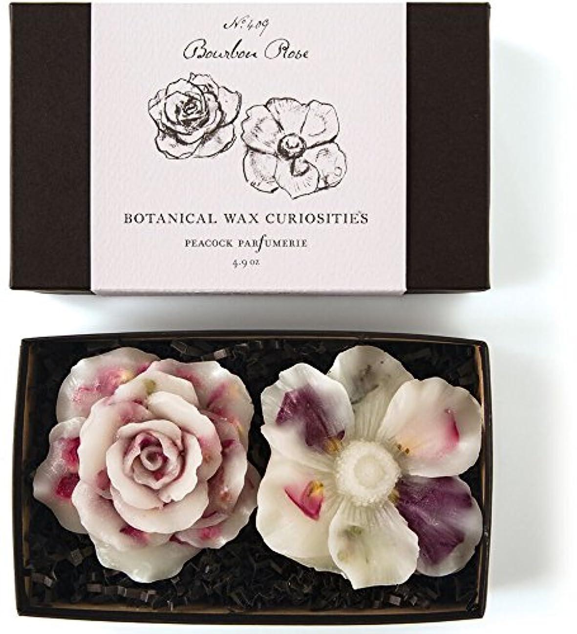 予備コカイン側溝ロージーリングス ボタニスト ボタニカルワックスキュリオシティ ブルボンローズ ROSY RINGS Botanist Collection Botanical Wax Bourbon Rose