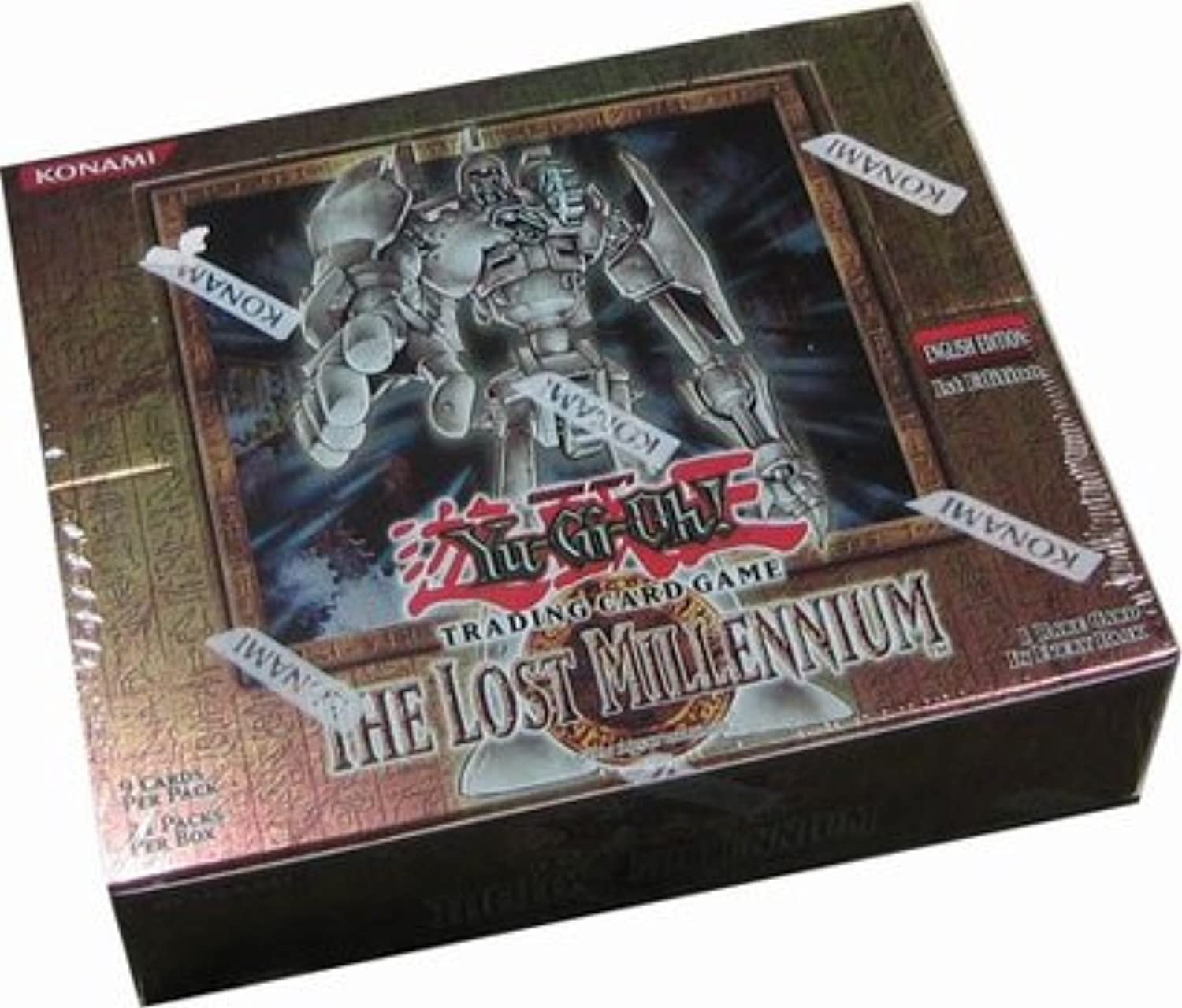 Upper Deck YuGiOh Card Game–The Lost Millennium 1st edition Hobby Booster Box–24p9C