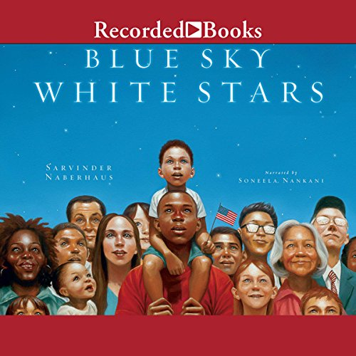 Blue Sky White Stars audiobook cover art