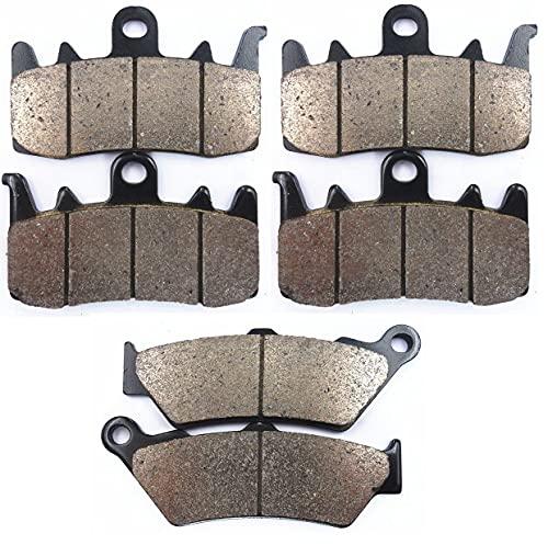 Pastillas de Freno Pastillas de Freno para B&MW R 1200 GS R1200GS 2013-2018 R 1200 RS R1200RS 2015 RT R1200 R1200RT 2014-2015 R 1170 Nine T R1170 R1170T (Color : Copper 1 Set)