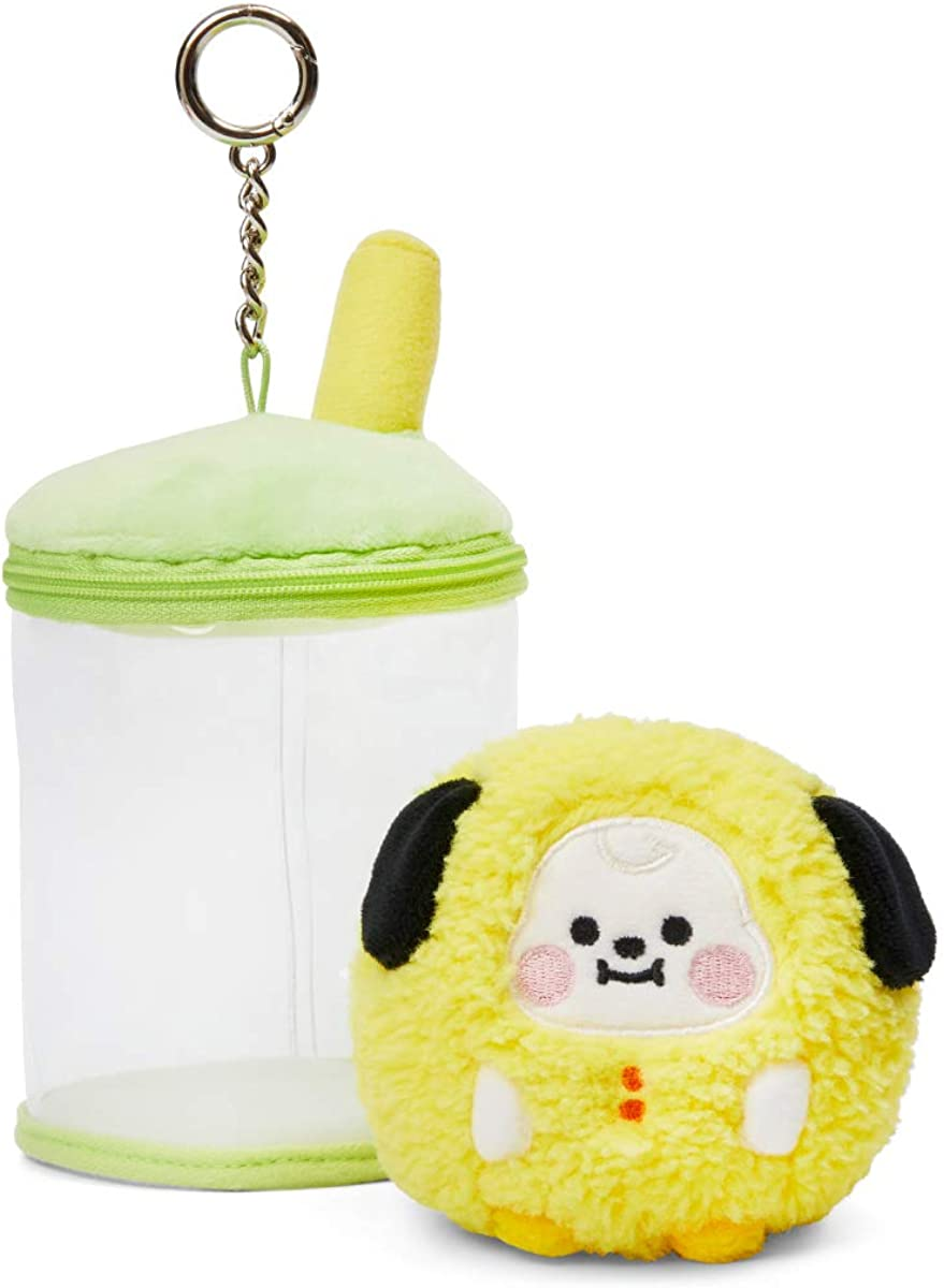 BT21 Max 52% OFF Baby Series Character Bubble Animal Tea Soft Fresno Mall Stuffed Plush