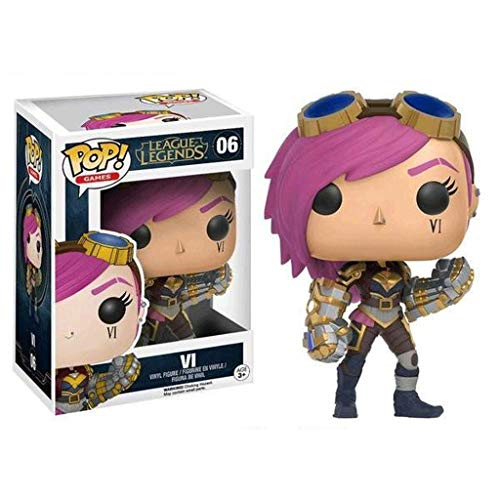 Funko Pop Games : LOL - Vi 3.75inch Vinyl Gift for Game Fans SuperCollection