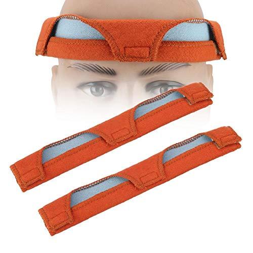 Banda para el sudor del casco - 2pcs / set Reemplazo del casco de seguridad del casco rígido Snap-On Forro del casco del casco