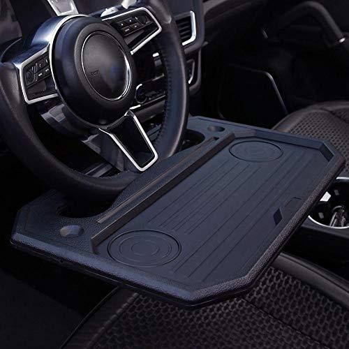 HELLOGIRL Universal Car Laptop Schreibtisch, tragbare Auto Lenkrad Tischablage, Esszimmer Leseständer