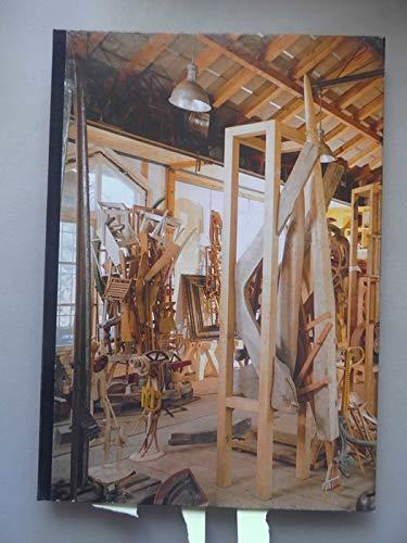 Figuren und Wandfiguren von Bernhard Luginbühl in der Galerie Medici Ausstellung 1988
