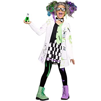 Horror-Shop Disfraz de niña Loca científica L: Amazon.es: Juguetes ...