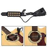 Fsskgx Pickup per chitarra acustica a 12 fori, microfono per trasduttore, amplificatore per cavo, altoparlante per chitarra acustica Buono