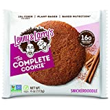 Lenny & Larry's The Complete Cookie, Snickerdoodle, Soft Baked, 16g Plant Protein, Vegan, ...