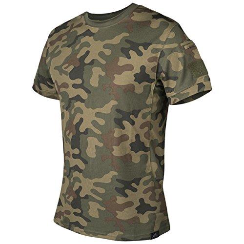 Helikon-Tex メンズ タクティカル Tシャツ PL ウッドランド US サイズ: Large カラー: マルチカラー