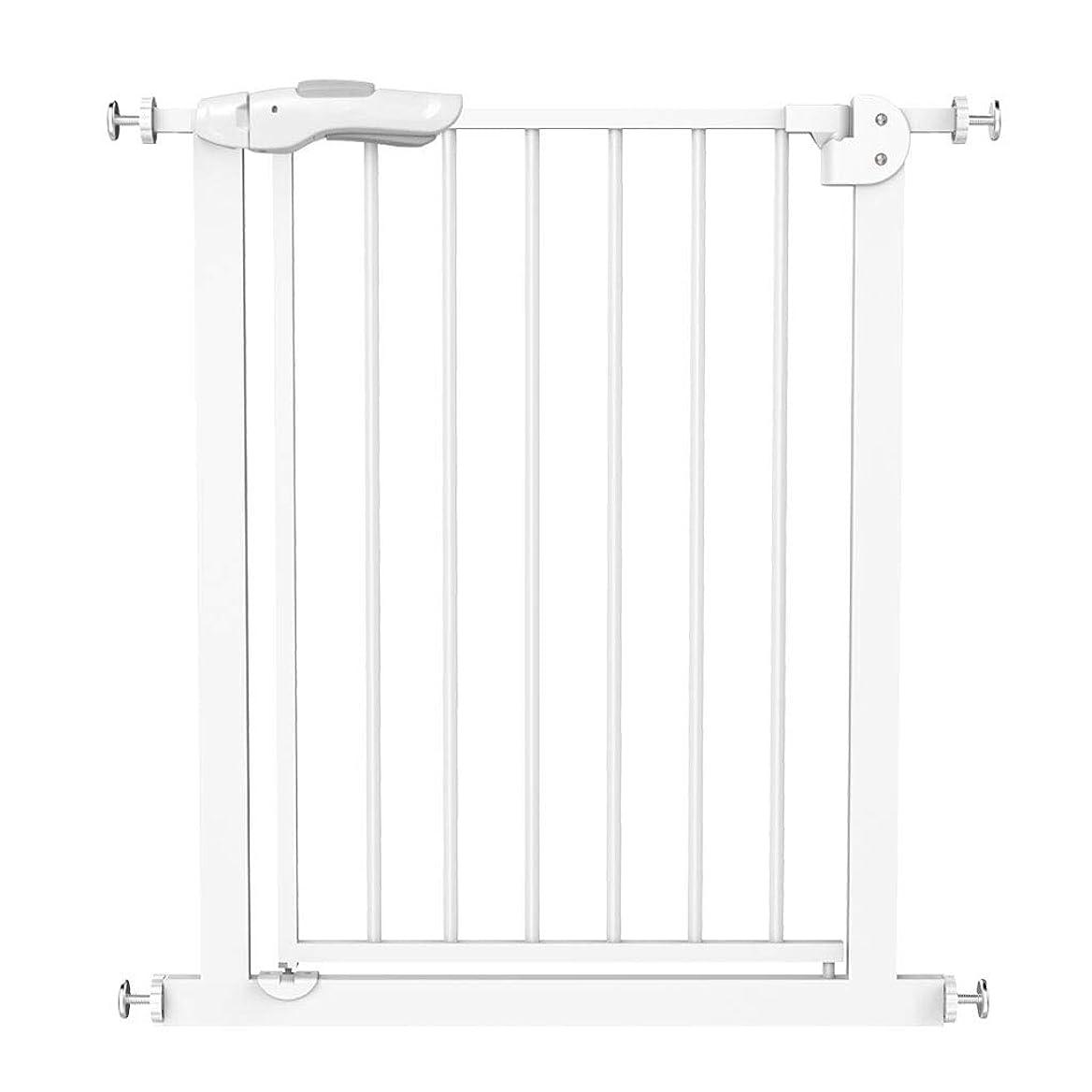 革新ペチュランスジョージエリオットQIQIDEDAIN 安全ゲート階段フェンス子供安全ゲートフェンスフェンス子供安全フェンス犬ドア柵安全防護階段 (Size : 66-74cm)