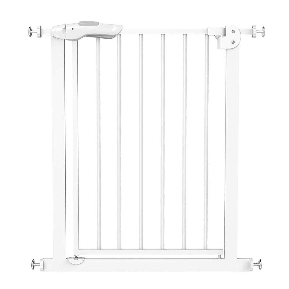 病的提案する裂け目QIQIDEDAIN 安全ゲート階段フェンス子供安全ゲートフェンスフェンス子供安全フェンス犬ドア柵安全防護階段 (Size : 66-74cm)