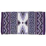 Tough 1 Mayan Navajo Wool Saddle Blanket Purple