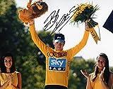 Limited Edition Bradley Wiggins signiert Foto Autogramm