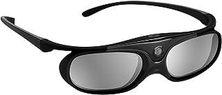 BOBLOV Aktywne okulary 3D DLP-Link kompatybilne z projektora