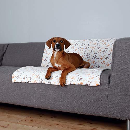 Trixie 37178 Decke Lingo, 100 × 75 cm, weiß/beige