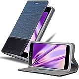 Cadorabo Hülle für Sony Xperia E1 - Hülle in DUNKEL BLAU