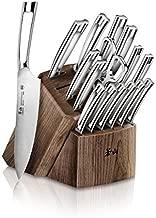 Cangshan N1 Series 1022636 German Steel Forged 17-Piece Knife Block Set, Walnut
