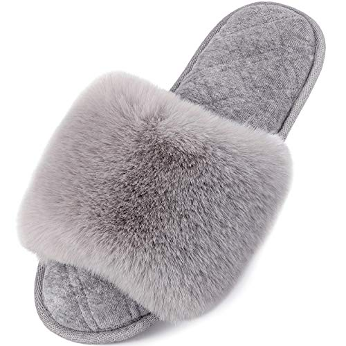 Top 10 best selling list for fluffy open toe flat shoes