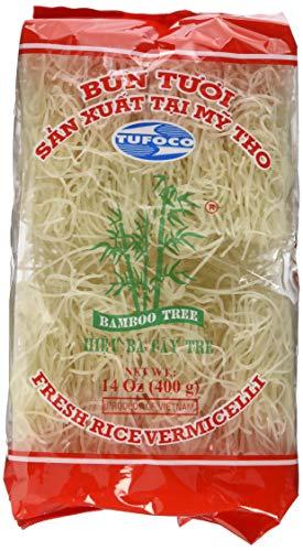 BAMBOO TREE Reisnudeln Beliebt und einfach vietnamesische Nudeln zu machen. Premium Qualität. Inhalt: 400 g.
