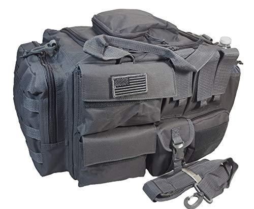 """20"""" 2800cu.in. NexPak Tactical Duffel Padded Range Bag RCD120 (Gun Metal)"""