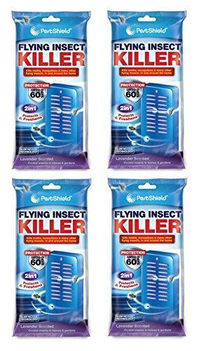 4 tue-insectes volants.