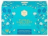 Mittal Teas Invigorating Floral Earl Grey Black Tea | 20 Eco Friendly Muslin
