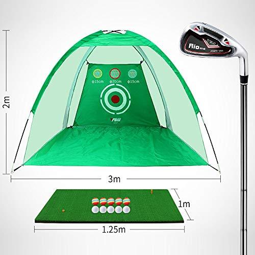 Great Price! JHHXW Golf Practice Net, Golf Cutting Practice Net, Indoor and Outdoor Swing Trainer, G...