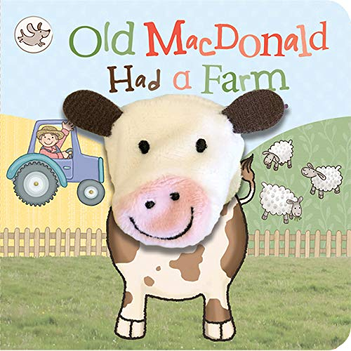 Old MacDonald Had a Farm (Finger Puppet Nursery Rhyme Board Book with Cow...