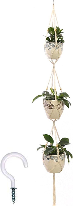 VEIGOU Ranking TOP17 Hanging Plant Handmade Macrame Soldering Hanger Flower Pot Pl