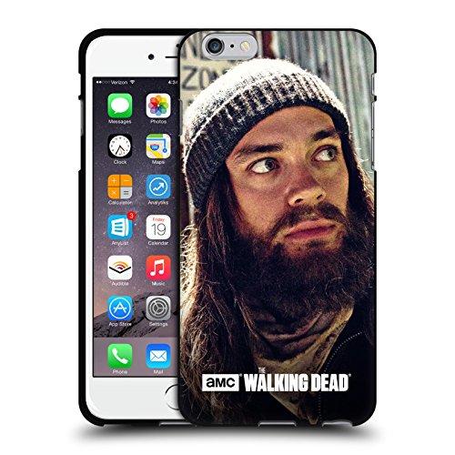 Head Case Designs Oficial AMC The Walking Dead Vigilante Jesús Funda de Gel Negro Compatible con Apple iPhone 6 Plus/iPhone 6s Plus