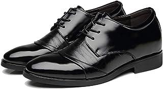 [Donahutt03] ビジネスシューズ 通学 事務所 多機能シューズ 防滑 ブラウン おしゃれ フォーマル ドレスシューズ 紳士靴 発表会 歩きやすい 通勤 レースアップ 純色