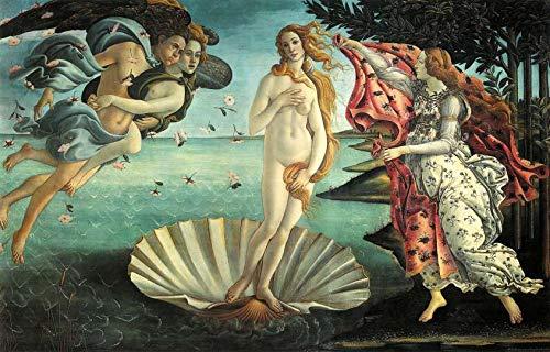 GTBITALY Sandro Botticelli Nascita di Venere calamita Magnete da frigo Frigorifero con Immagine...