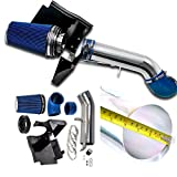 4' Perfit formance Cold Air Intake Kit With Filter fit for GMC Chevy Chevrolet 1999 2000 2001 2002 2003 2004 2005 2006 V8 4.8L/5.3L/6.0L(Blue)