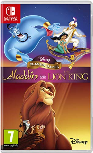 Disney Classic Games: Aladdin and the Lion King NSW [