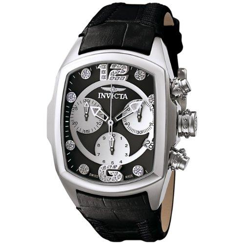Invicta Lupah Lady Diamond 6804–Reloj analógico de Mujer con Esfera Negra y...