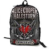 Mochila Mochila de Viaje Halestorm Backpack Campus School Bag Casual Backpack Gym Travel Hiking Canvas Backpack