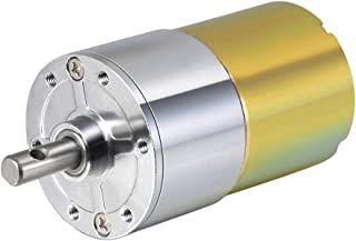 uxcell 12V DC 100 RPM Gear Motor High Torque Electric Reduction Gearbox Centric Output Shaft
