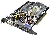 AXLE nVidia GeForce 5200 256 MB Grafikkarte (PCI, 256MB DDR Speicher, 128-bit 5200 FX Windows Vista S-Video, VGA, DVI)