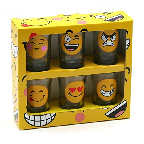 Pack de 6 Shooters Emoticone