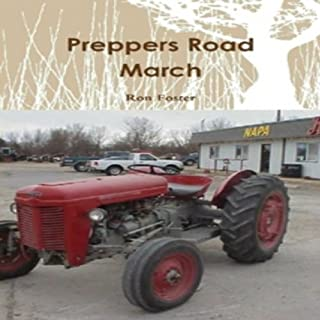 Preppers Road March audiobook cover art